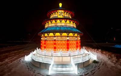 Большие очереди на «Фестивале гигантских китайских фонарей»