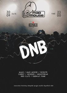 DNB @ Mad Mouse Promo - RE:PUBLIC club