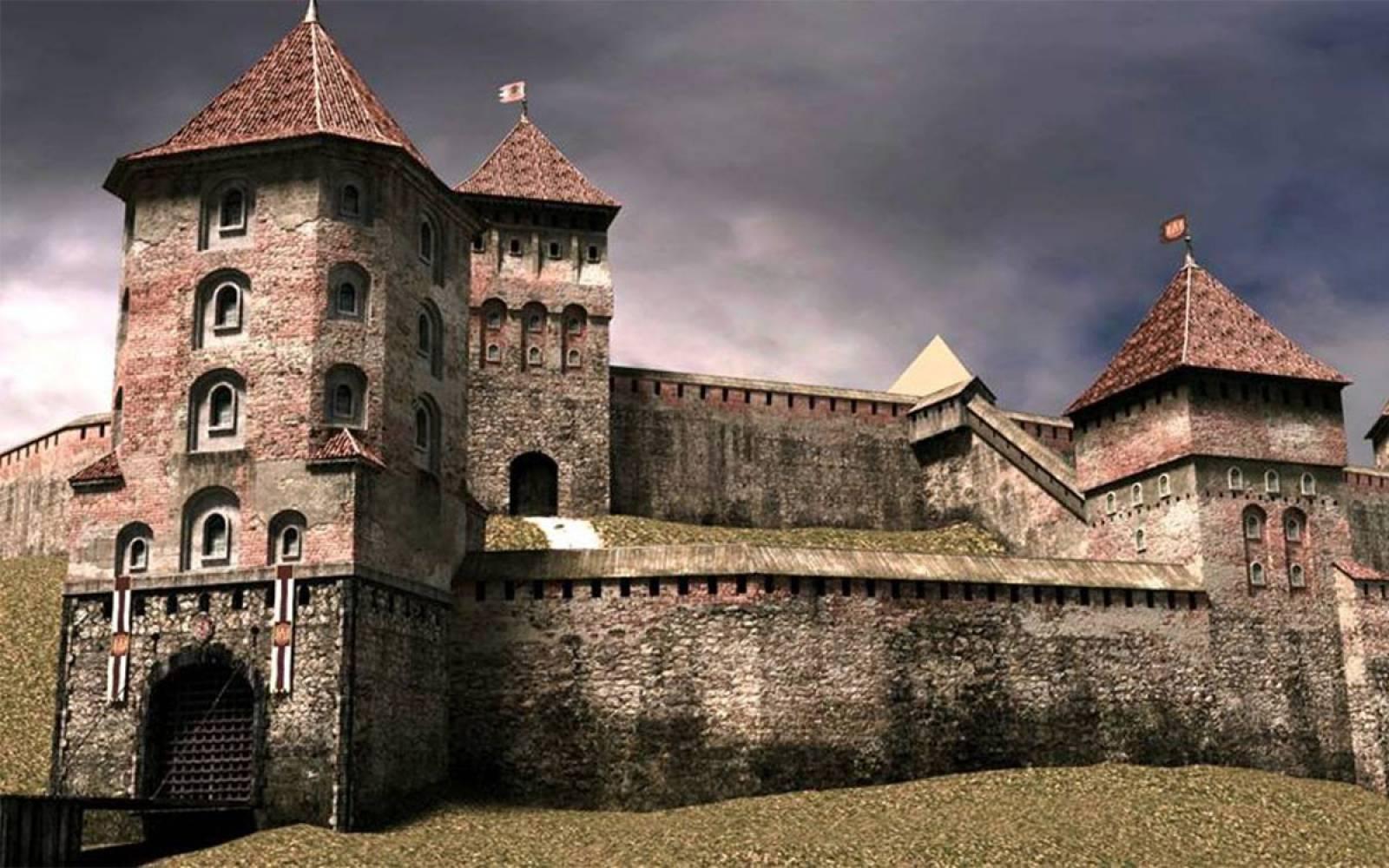 Картинки стародавних фортець замкив 4
