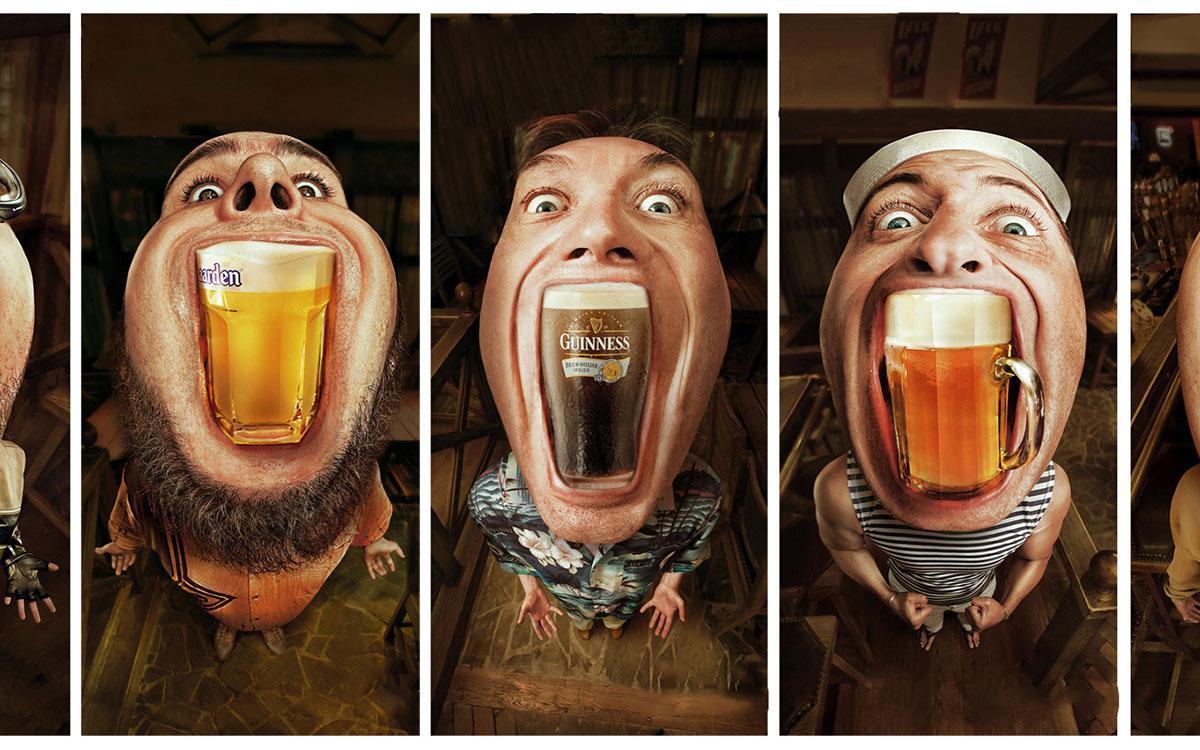 смешные фото постеры с пивной истории возникновения